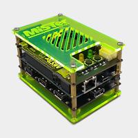 MiSTer FPGA Protective Acrylic Case Cover Plates For DE10 Nano - Acid Green