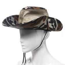 Camouflage Outdoor Mesh Sunshade Fishing Bucket Hat Cap Fashion Mens Hat Caps