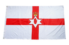 More details for celebrate northern ireland centenary 2021 with ni flags - 10 per pack