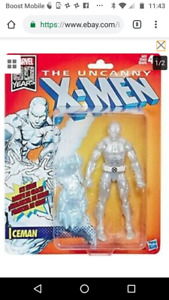 Marvel Legends Uncanny Xmen 2019 Retro Wave Iceman Figure pre Order