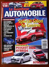Le moniteur Automobile 7/02/2012; Spécial Salon de Genève/ Peugeot 3008 Hybrid 4