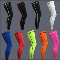 Sports Leg Calf Support Knee padding Stretch Sleeve Compression Sock Running