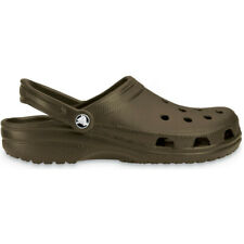 Crocs Mens Classic Unisex Croslite Breathable Strap Beach Clog Brown