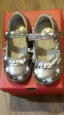 """New Fall 2019 See Kai Run """"Belle II"""" pewter leather mary jane shoes,child 11,NIB"""