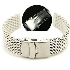 MILANESE SHARK MESH Correa Acero Inoxydable Stainless steel Band 22mm 22 mm