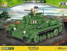 COBI  Valentine Mk.III  / 2521 / 406 blocks WWII British  light tank