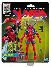 "HASBRO MARVEL LEGENDS 6"" 80th The UNCANNY X-MEN X-Force Retro DEADPOOL"