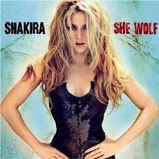 "SHAKIRA ""SHE WOLF"" CD 10 TRACKS NEW+"