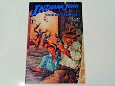 Indiana Jones and the Fate of Atlantis #3 1991 VF+ (Dark Horse)