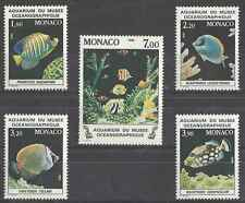 Timbres Poissons Monaco 1483/7 ** lot 10537
