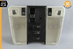 92-99 Mercedes W140 S500 CL500 500SEL Overhead Dome Light Lamp Black OEM