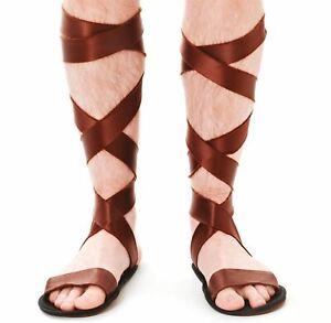 Roman Sandals  adults size fancy dress accessory
