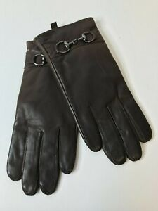 Wilsons Leather Womens Brown Leather Gloves w/Thinsulate Ultra Insulation Medium
