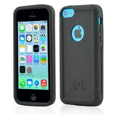 Coque antichoc MOLS noire avec protecteur d'écran pour iPhone 5c