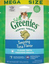 Feline Greenies Dental Treat Tuna 4.6oz   Free Shipping