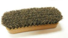 "Professional Boot/Shoe Shine/Buff Brush - 100% Horsehair 6-5/8"" Long - BLONDE"