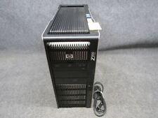HP Workstation Z800 PC Tower Intel Xeon E5620 2.40GHz 4GB RAM 250GB HDD