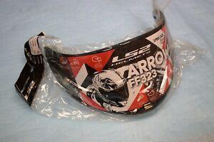 """visière écran anti-rayure LS2 """" fumé """" pour casque FF323 ARROW neuf"""