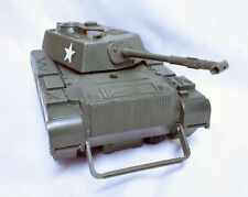 """Vintage Zima #900 US Army Tank 13"""" 1980's for 3.75"""" Fig Storage Case"""