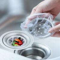 30-100 Kitchen Sink Filter Mesh Basin Residue Garbage Bag For Shower Filter Sink