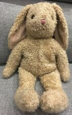 "Ty Bunny Rabbit Fuzzy Caramel Tan Fur Soft Stuffed Animal Plush Cute! 18"" Toy"