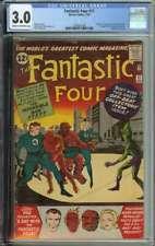 Fantastic Four #11 CGC 3.0 1st App & Origin Impossible Man
