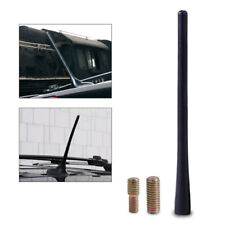 "1 Set New 8"" Aerial Antenna Mast Black Car AM/FM Radio Short Stubby"