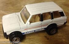 1989 Mattel Hot Wheels White Range Rover! See Pics!