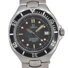 Auth OMEGA Seamaster Professional 200m Black Dial Quartz Boy's Watch O#93521