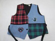 Cabin Creek Winter Theme Christmas Vest Women's Size Large