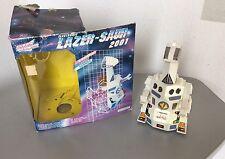1993# VINTAGE RARE ELECTRONIC LAZER SAUR 2001 ROBOT# BOXED LAZER POWER