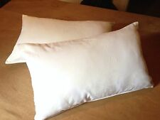 "Laura Ashley Josette Voile 20"" X 12"" Oblong Cushion Cover, Pad,Piped And Zipped"