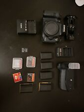 Canon EOS 7D Mark II Digital SLR Camera - Black (Body Only) with Extras!