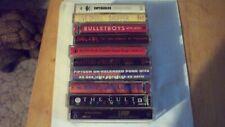Heavy metal, punk rock cassette lot , skull snuffer,bad religion,raging slab,