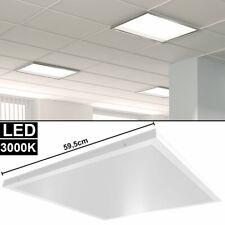 und Deckenleuchte Office 48W 3550lm 120cm Büro Rasterlampe weiß Starlicht Wand