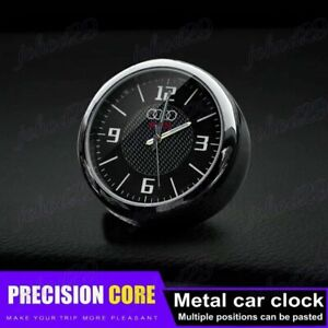 For AUDI Car Clock Refit Interior Luminous Electronic Quartz Ornaments Gift New