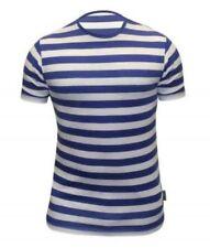 Striped Cotton Short Sleeve Basic T-Shirts for Men