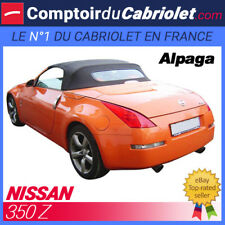 Capote Nissan 350 Z cabriolet (2003 - 2009) - Toile Alpaga Stayfast®