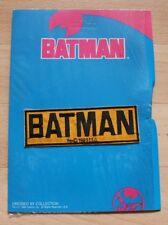 Batman Patch, 1989 , Originalverpackt, Aufnäher