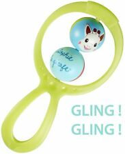 Sophie la girafe Teething Two Ball Rattle Baby Toy Traditional