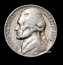 1952-D Jefferson Nickel (Circulated) Free Shipping!