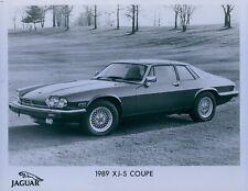 1989 Jaguar XJ-S Coupe Press Photo