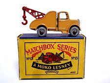 Matchbox Lesney No.13a Bedford O Type Wreck Truck In Type B1 MOKO Box (VN MINT!)
