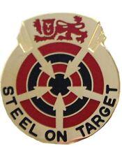 0023 Air Defense Artillery Group Unit Crest (Steel On Target)