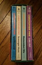 """Lot of four Christopher Pike Books In Slipcase Box Set """"Gift Set"""" Remember Me +"""
