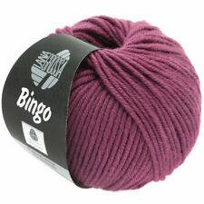 Lana Grossa Bingo Fb. 179 Beere 50 gr.  LL 80 Meter Neu