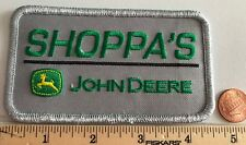 """SHOPPA'S JOHN DEERE EMBROIDERED IRON ON PATCH*4.5""""x2.5"""""""