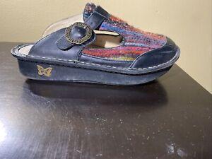 Alegria Classic Multi Knit  Mule ALG-943 Women Size 40 US 9.5-10