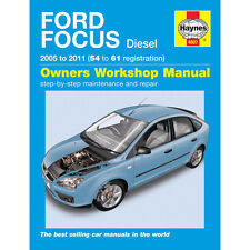 [4807] Ford Focus 1.6 1.8 2.0 Diesel 05-09 (54-09 Reg) Haynes Manual