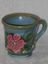 SMF Schramberg handgrmalt Garmisch Art Deco Keramik Deutsche Majolika Tasse Teetasse